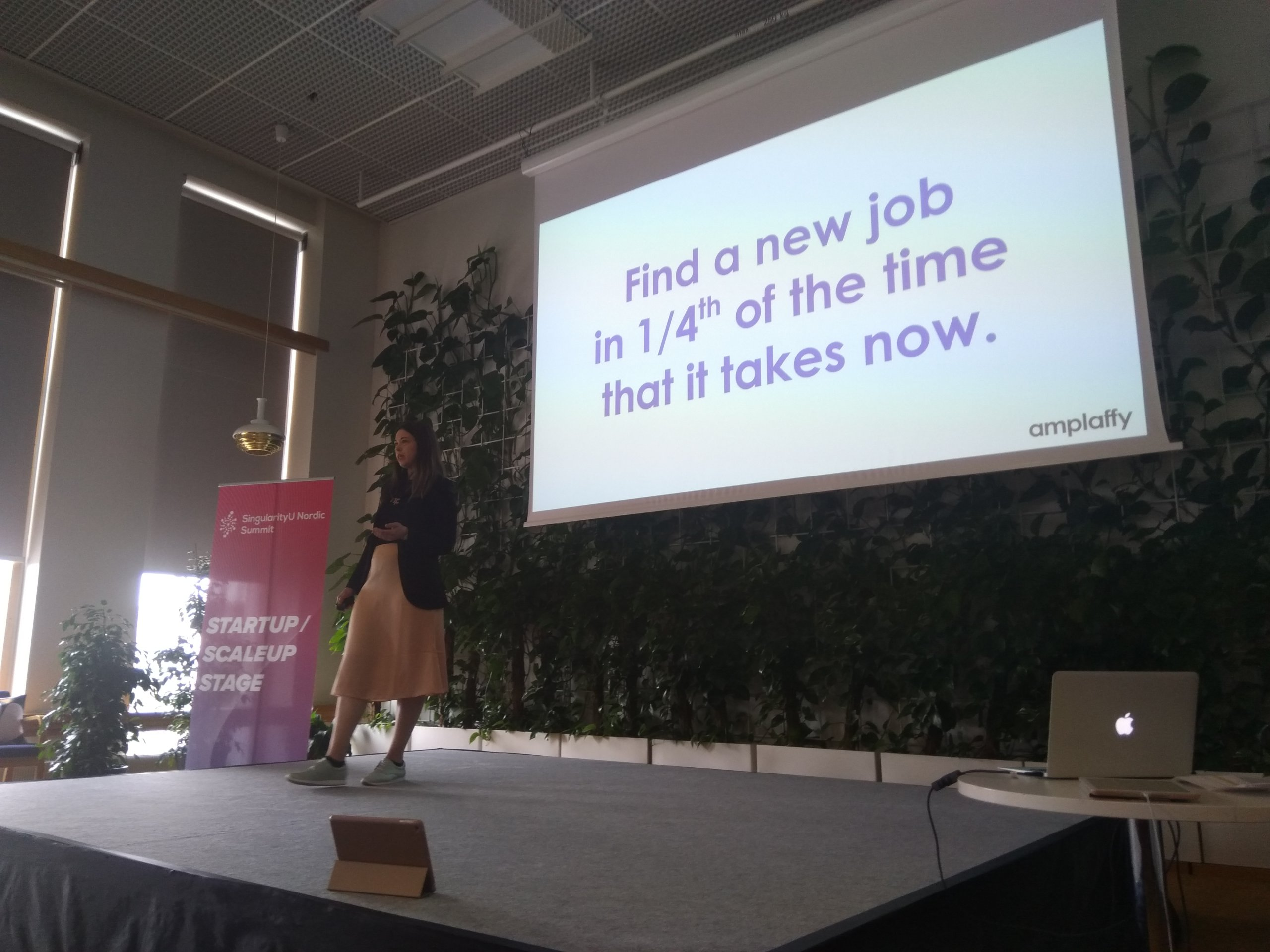 Pitch at RE:THINK in Spring 2019