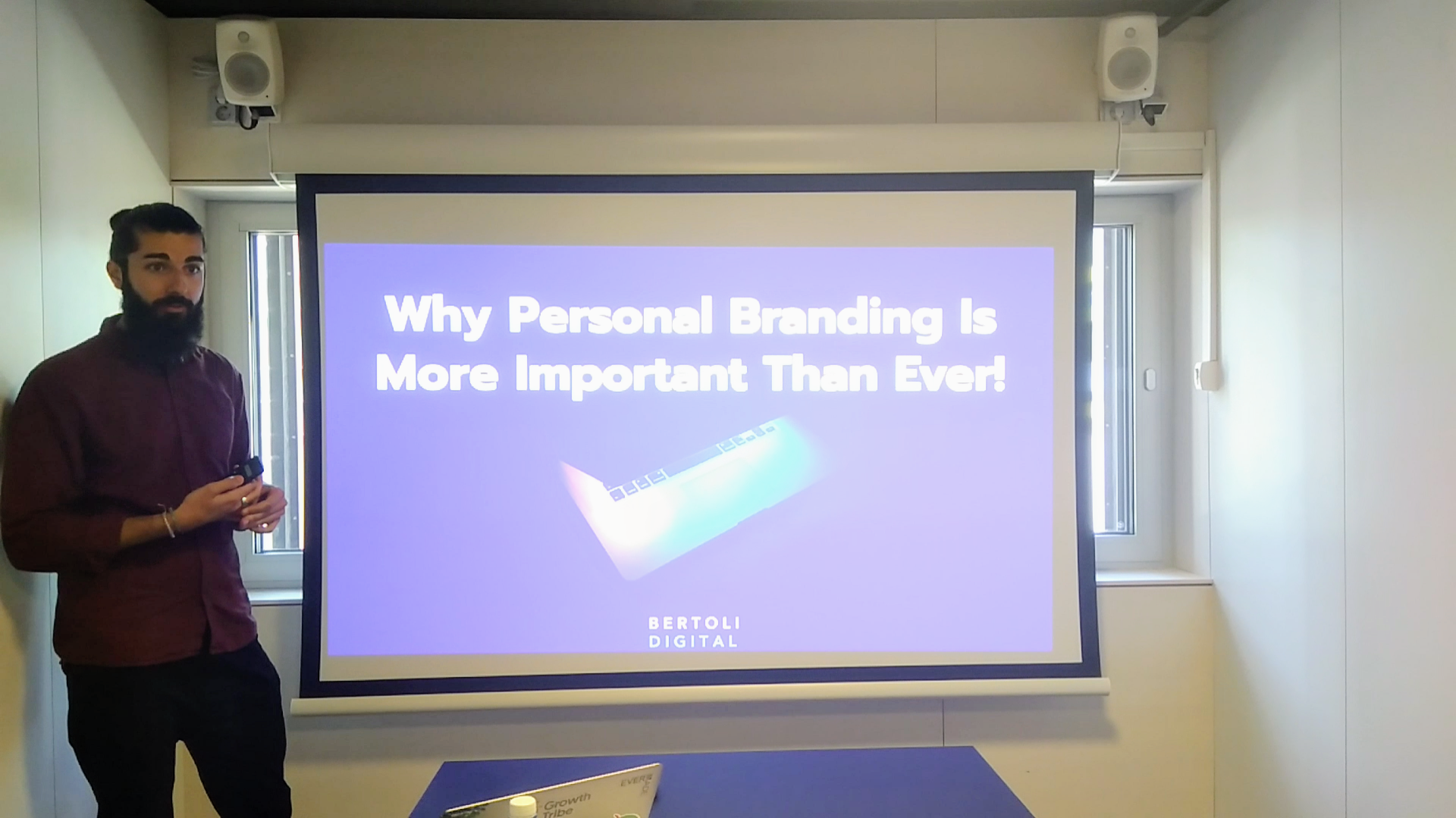 Learn through Teaching Events - Remy's 15 min session on Branding
