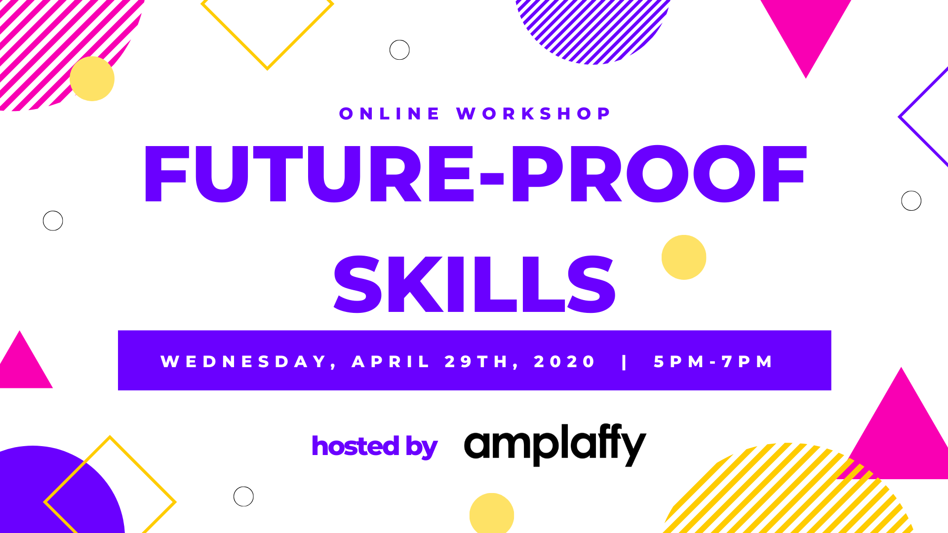 Read the key take aways of the Future-proof Skills Workshop