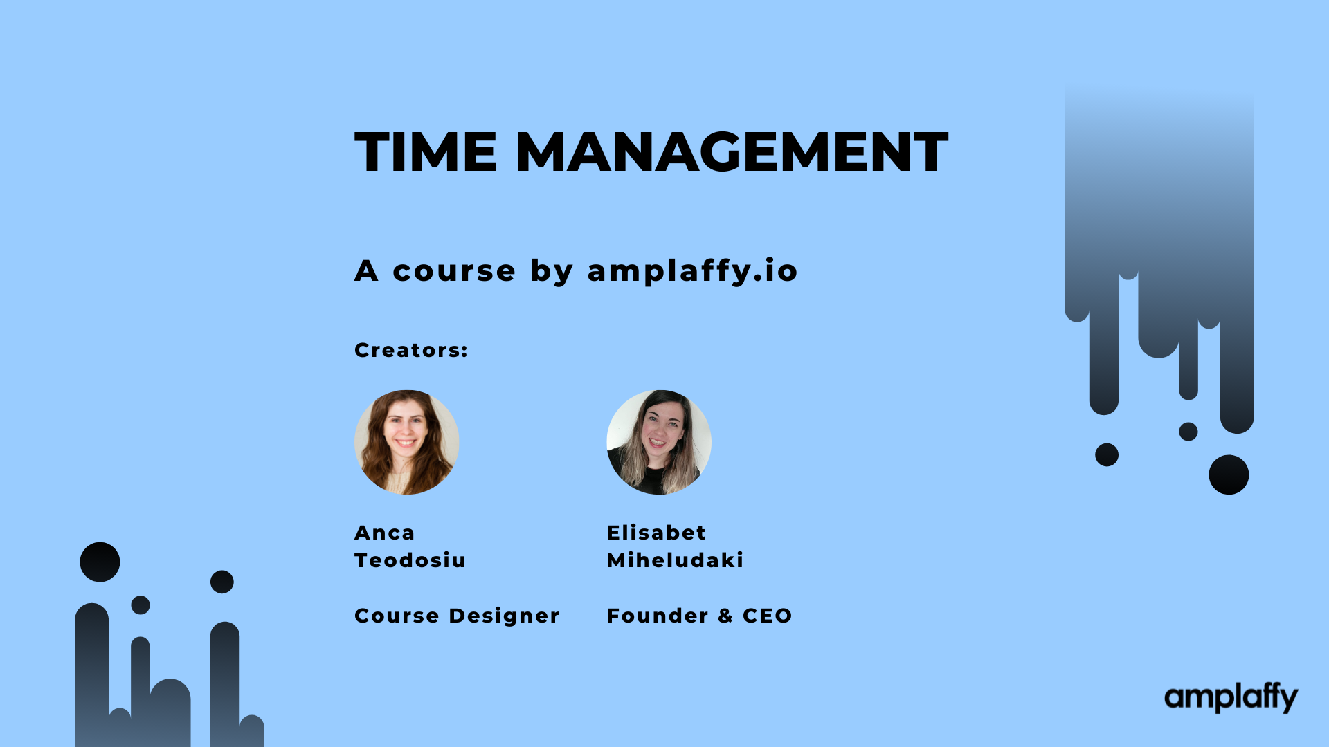 1.Introduction to time management course